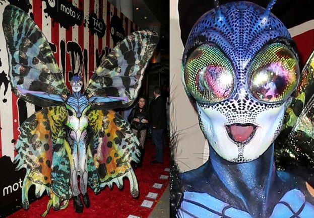Heidi Klum przebrana za... motyla! (ZDJĘCIA)