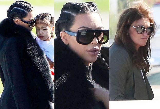 Kim wsiada z dziećmi i Caitlyn do prywatnego odrzutowca (ZDJĘCIA)