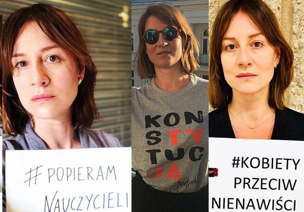 """Maja Ostaszewska skarży się: """"Straciłam kontrakt reklamowy przez swoje zaangażowanie społeczne"""""""