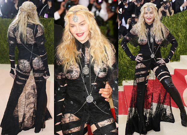 57-letnia Madonna z gołą pupą i zaklejonymi sutkami… (ZDJĘCIA)