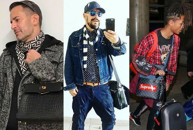 Jakie męskie torby noszą celebryci? Przegląd trendów