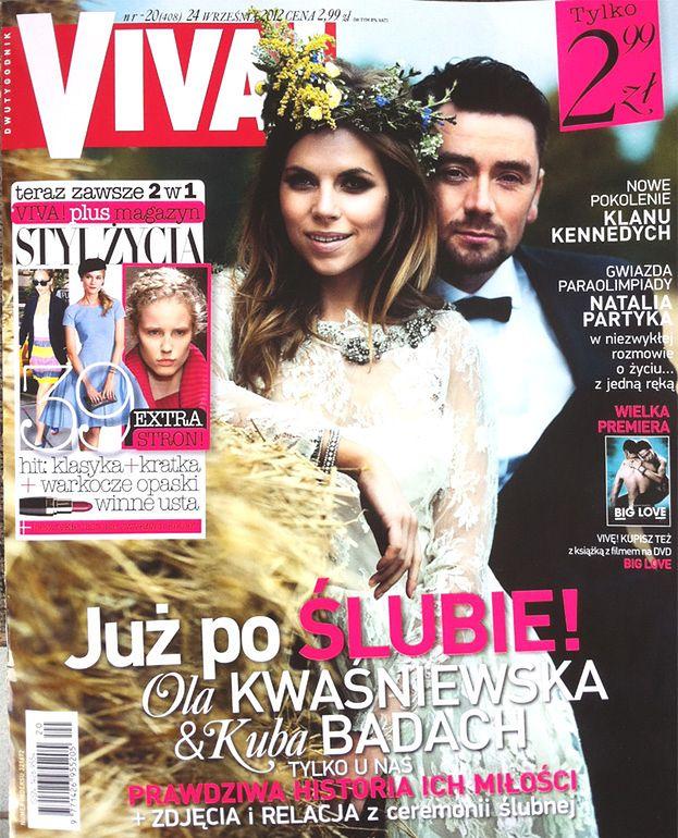 Relacja ze ślubu Kwaśniewskiej za 2,99 zł! (FOTO)
