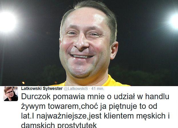 """Sylwester Latkowski odpowiada Durczokowi: """"Jest klientem męskich i damskich prostytutek"""""""