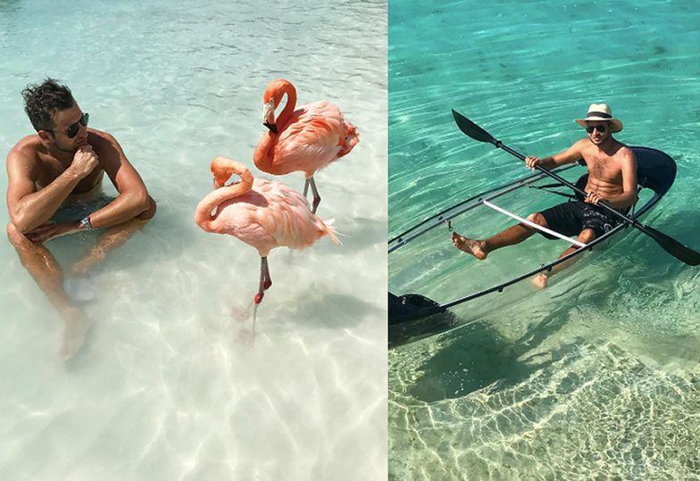 Luksusowe wakacje to jego pasja