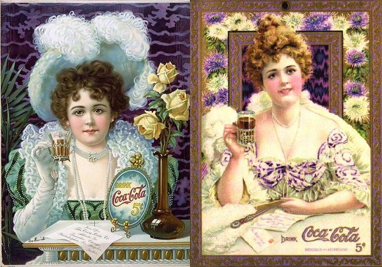 """Hilda Clark - pierwsza """"twarz Coca-Coli"""""""