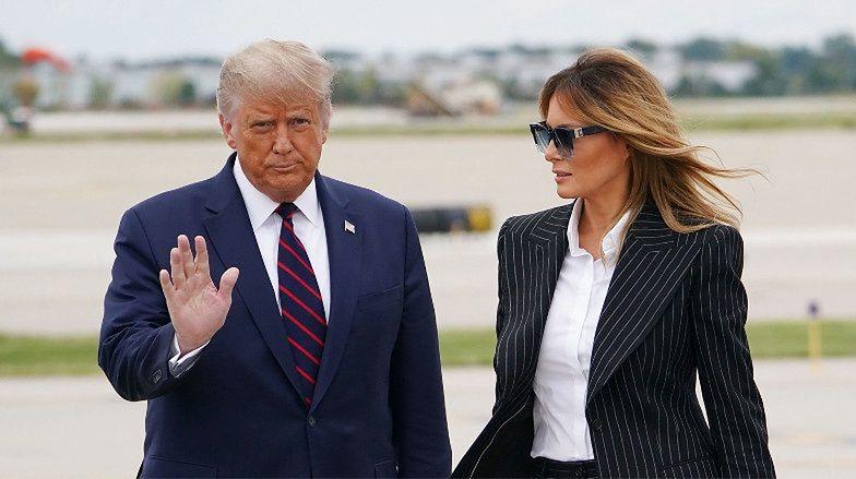 """Donald i Melania Trump mają KORONAWIRUSA! """"Na pewno WSPÓLNIE uda nam się przez to przejść"""""""