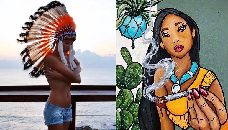 Uduchowiona Edyta Górniak zadaje życiowe pytania pod zdjęciem Pocahontas z tajemniczym skrętem