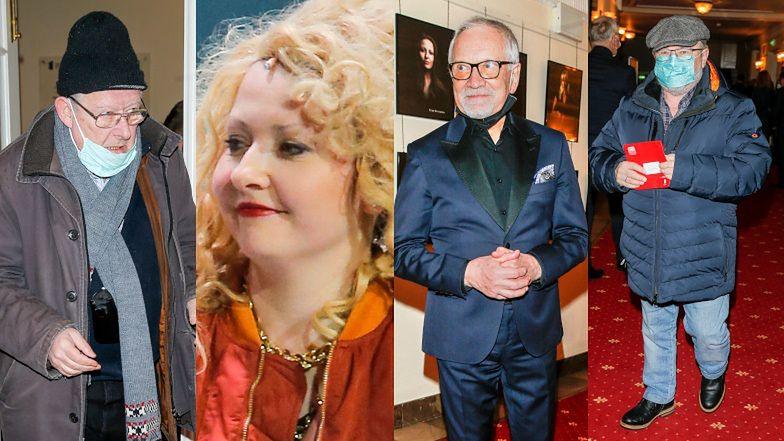 Premiera spektaklu o Magdzie Gessler... bez Gessler. Byli za to Andrzej Seweryn, Edward Miszczak, Adam Michnik... (ZDJĘCIA)