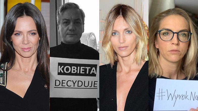 Gwiazdy i politycy protestują po wyroku Trybunału Konstytucyjnego