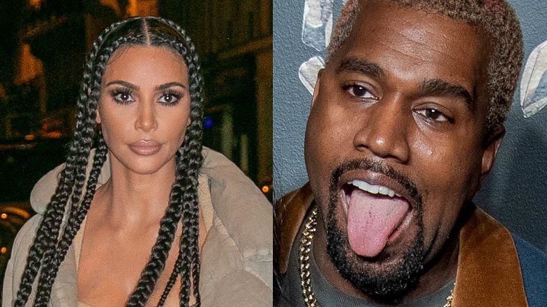 """Kim Kardashian postanowiła ROZWIEŚĆ SIĘ z Kanye Westem po ostatnim ataku męża: """"Rozpętała się STRASZNA KŁÓTNIA"""""""