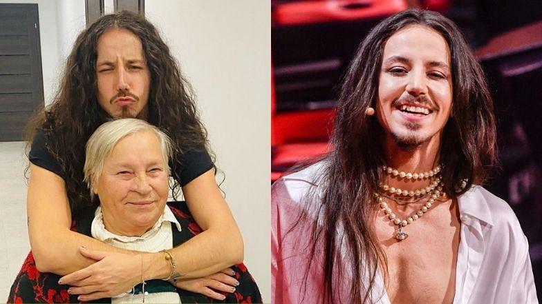 """Michał Szpak wspomina zmarłą mamę i pokazuje babcię. """"Piękni i wiecznie młodzi"""""""