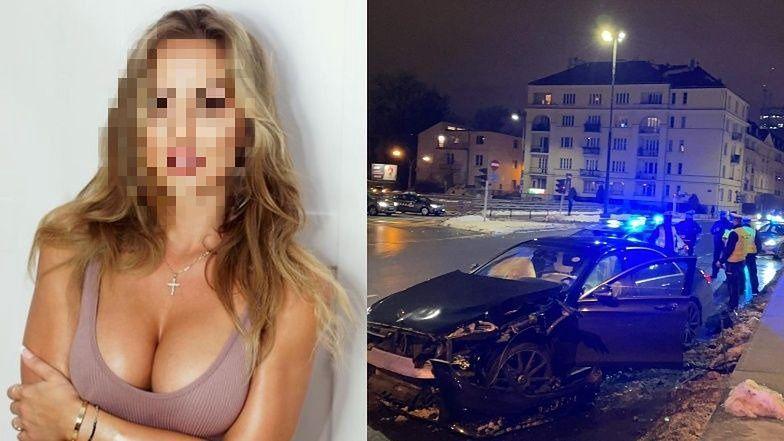 """Kolega Julii z """"Hotelu Paradise"""" prowadził mercedesa pod wpływem kokainy i uciekał przed policją! Modelka była pasażerką..."""