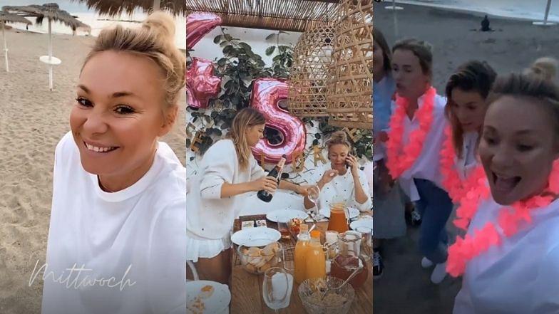 """Sonia Bohosiewicz świętuje 45. urodziny na Wyspach Kanaryjskich. """"Na plaży. Tak, jak sobie wymarzyłam"""" (ZDJĘCIA)"""