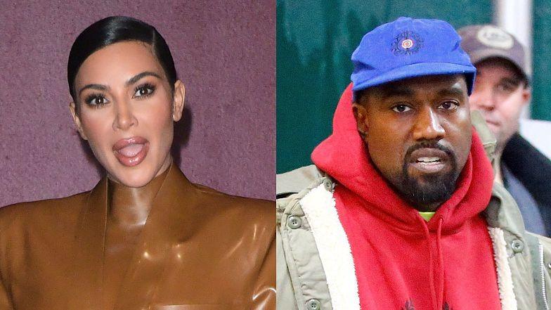 """Kim Kardashian również chce ROZWODU: """"TO KONIEC. Nie będzie się przyglądać, jak mąż niszczy jej reputację"""""""