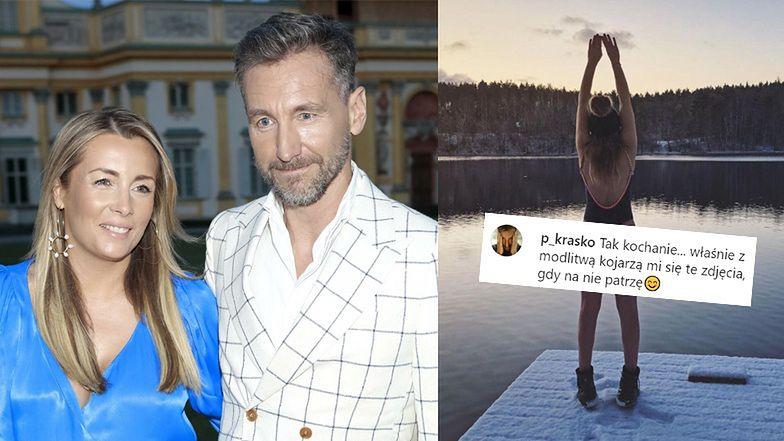 """Karolina Ferenstein-Kraśko pokazuje pupę na zdjęciach z MORSOWANIA: """"Nie ulegam chwilowym modom"""""""