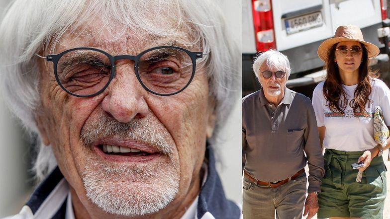 """89-letni Bernie Ecclestone o opiece nad synkiem: """"Mam nadzieję, że pożyję WYSTARCZAJĄCO DŁUGO, by się nim nacieszyć"""""""