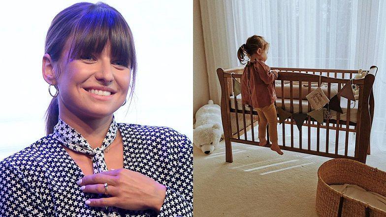 """Anna Lewandowska chwali się zdjęciem Klary przy niemowlęcym łóżeczku: """"Ktoś tu nie może się doczekać"""" (FOTO)"""