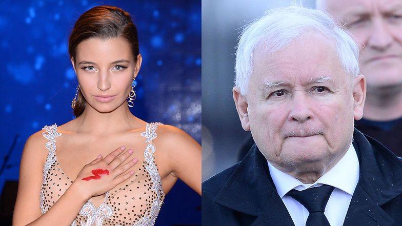 """Julia Wieniawa z sentymentem o Jarosławie Kaczyńskim: """"OHYDNY DZIAD! HA TFU!"""""""