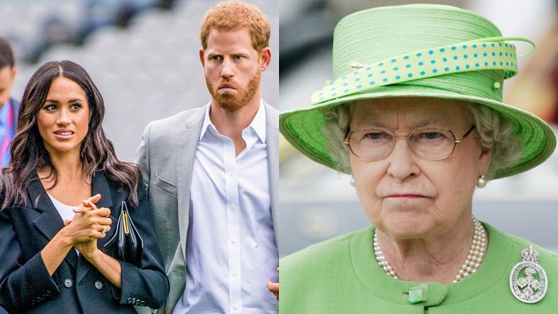 Meghan Markle i Harry NIE WRÓCĄ do książęcych obowiązków! Królowa Elżbieta wydała oświadczenie