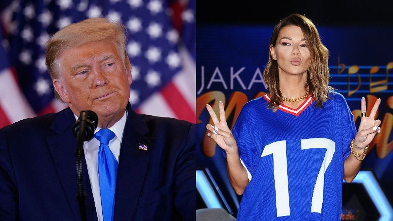 "Edyta Górniak pisze do Trumpa na Instagramie: ""HOW CAN I HELP...?"""