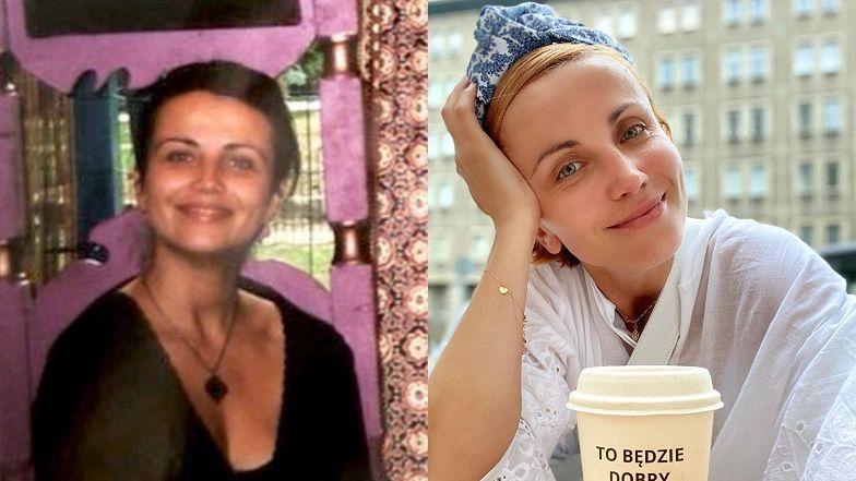 """Nostalgiczna Katarzyna Zielińska pokazała zdjęcie z młodości ze ZNANYMI koleżankami. Fanka: """"W ŻYCIU BYM NIE POZNAŁA"""""""