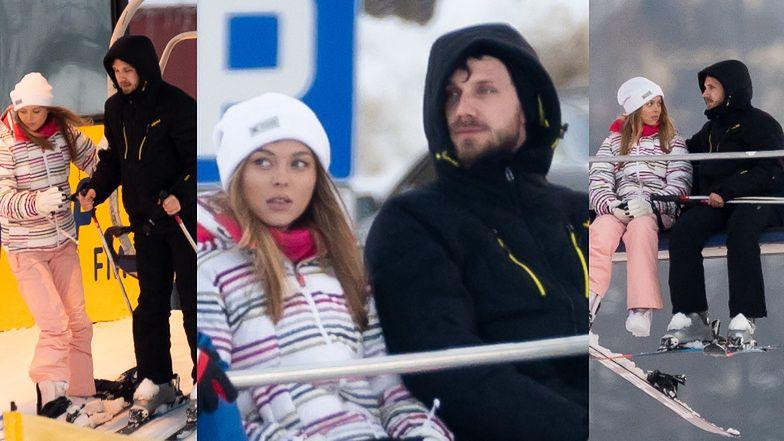 Antek Królikowski i Joanna Opozda walczą o miłość na zakopiańskim stoku (ZDJĘCIA)