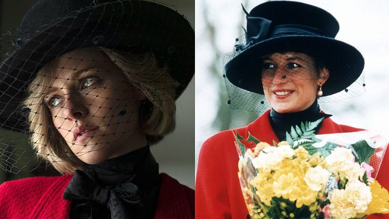 """Kristen Stewart jako księżna Diana w filmie """"Spencer""""! Jest nie do poznania! (FOTO)"""