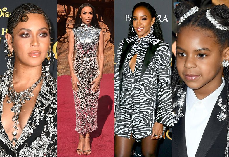 Beyonce, Michelle Williams, Kelly Rowland i Blue Ivy