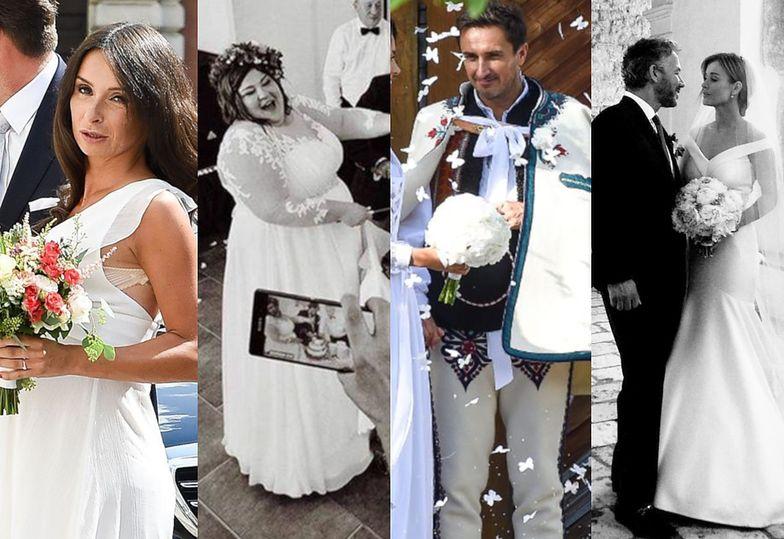 Najgorętsze śluby minionego lata