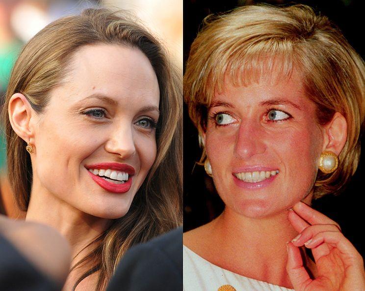 Angelina chce iść w ślady Lady Diany!