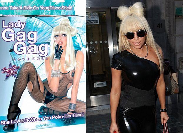 Dmuchana lalka... Lady GaGi!