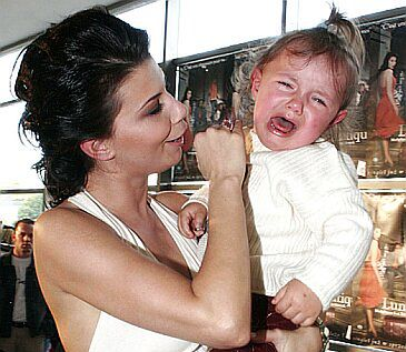 Edyta Górniak jak Angelina Jolie