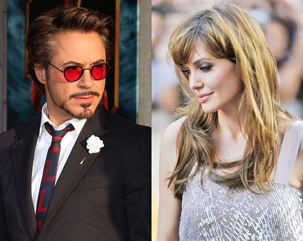 Angelina odrzuciła rolę u boku Roberta Downey'a Jr.!