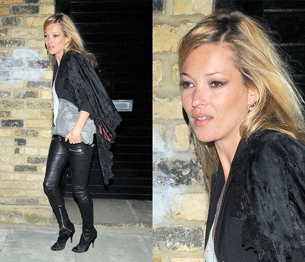 Kate Moss rzuca alkohol i papierosy!