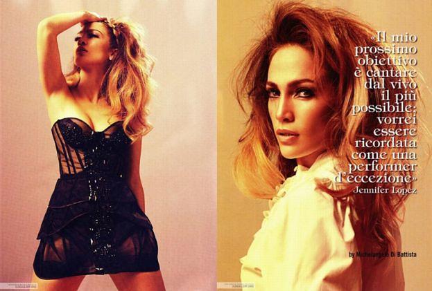 J.Lo w stylu lat 50-tych (ZDJĘCIA)