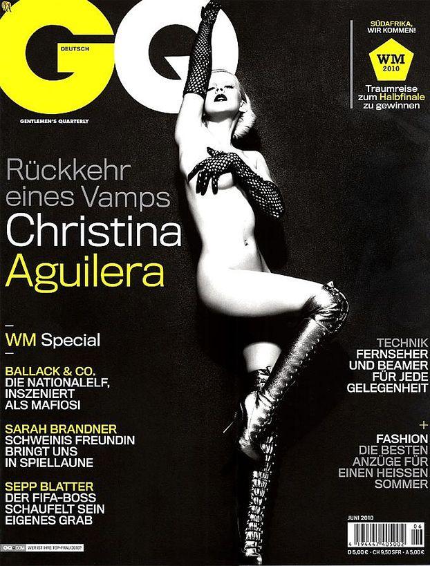 Naga Christina Aguilera! (ZDJĘCIA!)