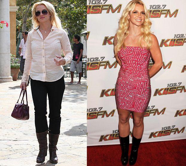 Britney schudła prawie 10 kilogramów! (FOTO)