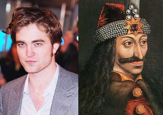 Pattinson jest potomkiem... Drakuli?!