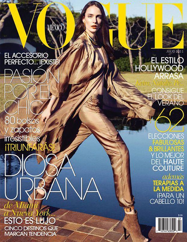 """Pierwsza okładka """"Vogue'a"""" Zuzanny Bijoch!"""
