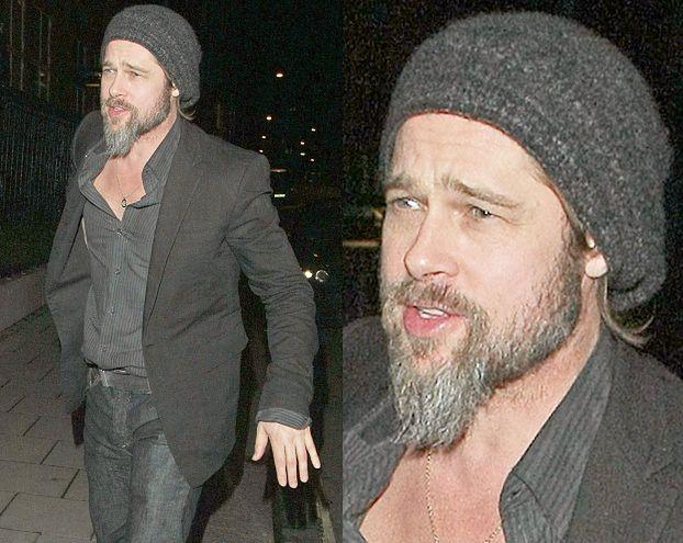 Pitt nie chce zgolić brody!