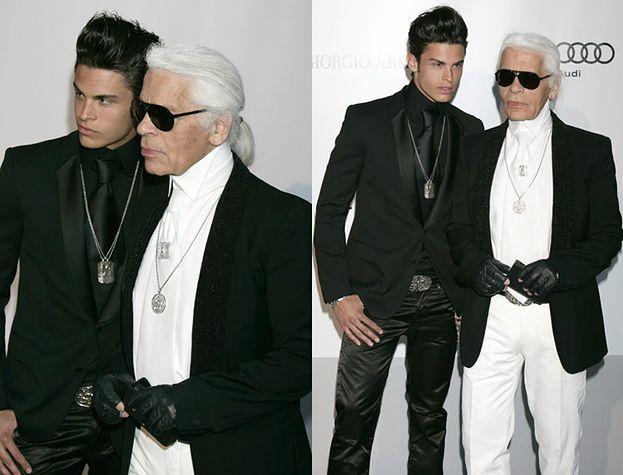 Nowy kochanek Lagerfelda!
