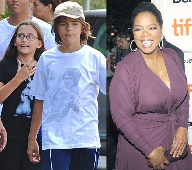 Dzieci Michaela wystąpią u Oprah!