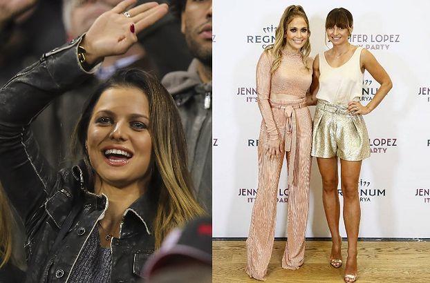 Jennifer Lopez dostąpiła zaszczytu i poznała Anię Lewandowską. Zrobiła sobie zdjęcie z trenerką (FOTO)