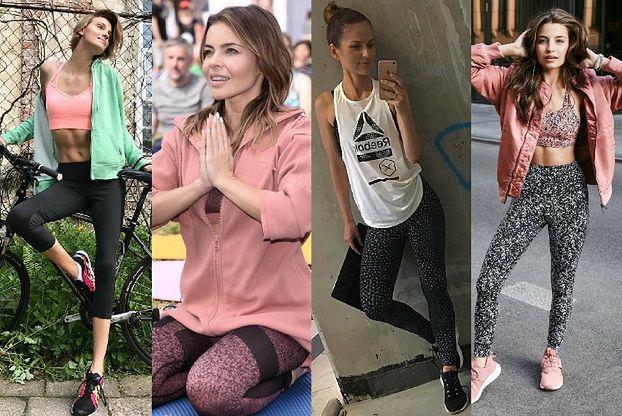 Najmodniejsza odzież fitness - 5 stylizacji gwiazd