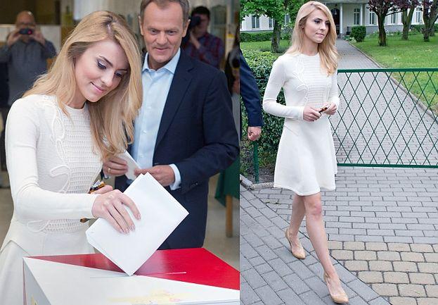Modna Kasia Tusk głosuje... (ZDJĘCIA)
