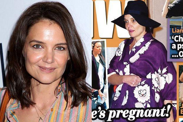 Katie Holmes jest w drugiej ciąży? Wyciekło jej zdjęcie z dużym brzuszkiem