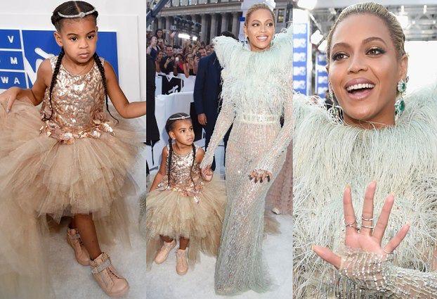 Beyonce z córką na imprezie MTV! (ZDJĘCIA)