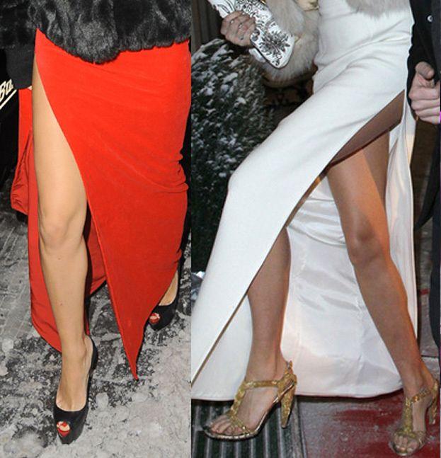 """DODA i """"KATE ROZZ"""": Gołe stopy na mrozie... (FOTO)"""