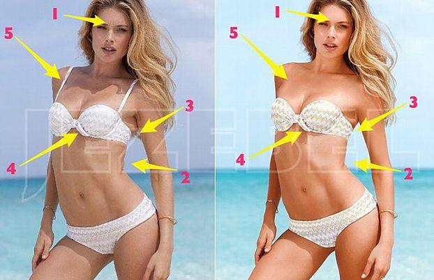 Zobacz jak Victoria's Secret RETUSZUJE MODELKI!