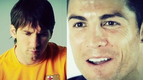 Ronaldo i Messi reklamują Gran Derbi!